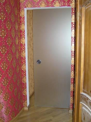 Раздвижные стеклянные двери 5