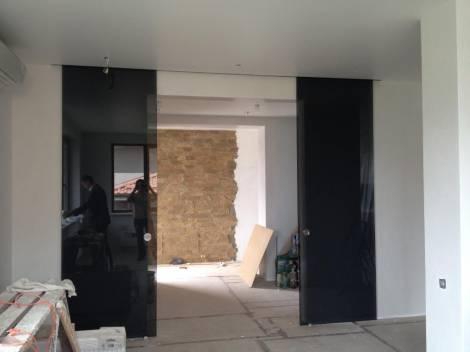 Раздвижные двери из стекла 5
