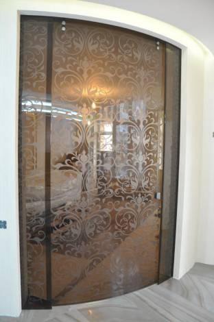 Раздвижные двери из стекла 2