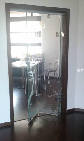Раздвижные двери из стекла 3
