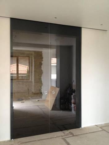 Раздвижные двери из стекла 4