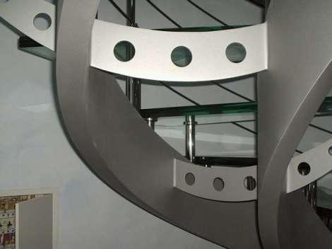 Стеклянная лестница 6
