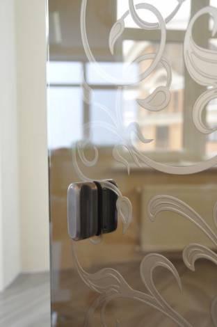 Раздвижные двери из стекла 1