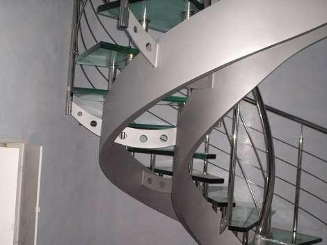 Стеклянная лестница 5