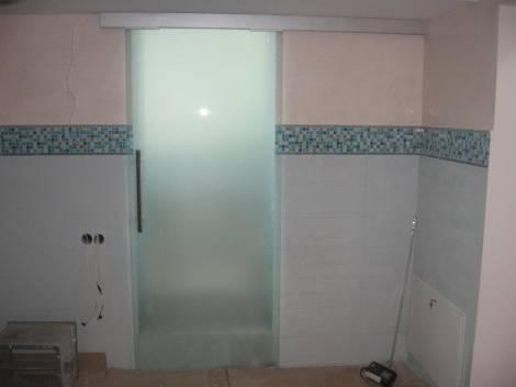 Раздвижные стеклянные двери 12