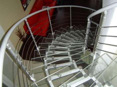 Стеклянная лестница 8