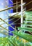 Лестница из стекла 19