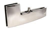 B-40 – крепеж угловой с верхней осью для маятниковой стеклянной двери