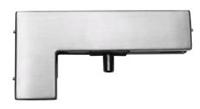 C-40 – крепеж угловой с верхней осью для маятниковой стеклянной двери