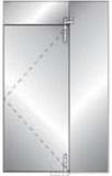 Комплект №3 для маятниковой двери DORMA MANET
