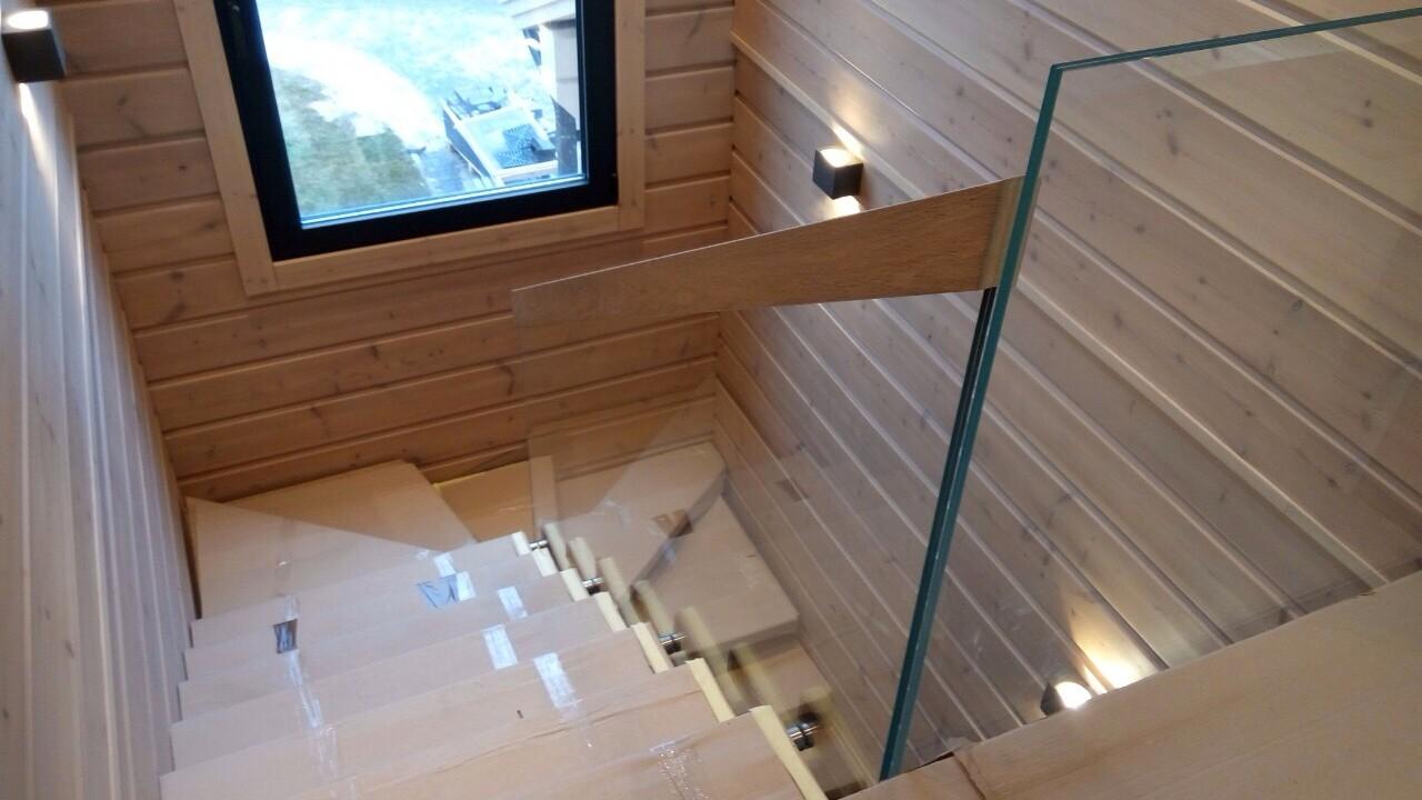Пример лестницы от компании Аспект-Плюс